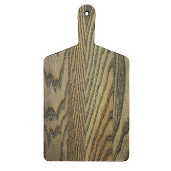 Ash Driftwood Rectangle Handle Cheese Board