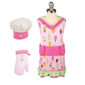 Kid's Apron Set-Sweet Stuff - MU-6001-1114