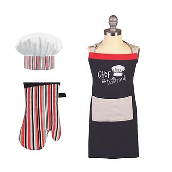 Kid's Apron Set-Chef in Training - MU-6001-1610