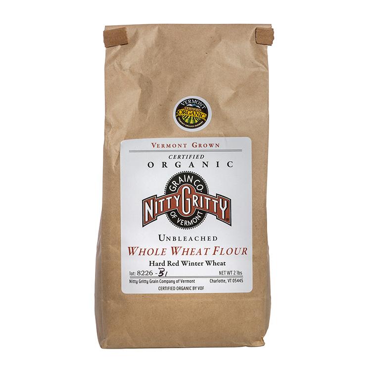 Organic Unbleached Whole Wheat Flour