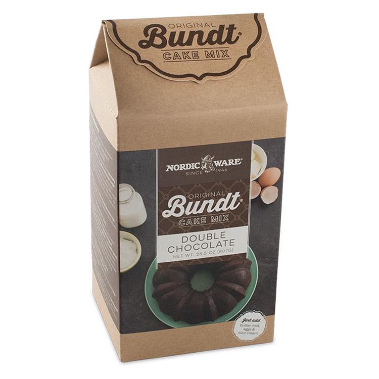 Double Chocolate Bundt Cake Mix