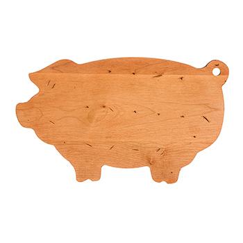 Maple Mini Pig Shaped Board