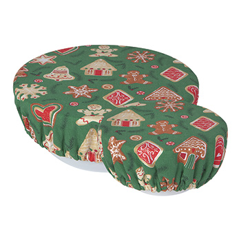 Bowl Covers set of 2-Christmas Cookies - ND-2023039