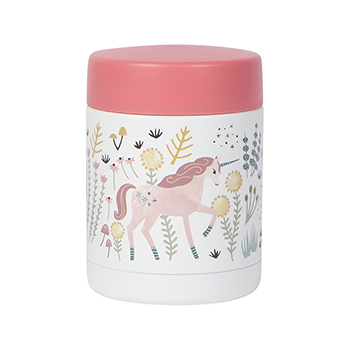 Insulated Food Jar-Unicorn