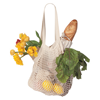 Le Marché Shopping Bag-Natural