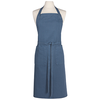 Stonewashed Apron-Midnight