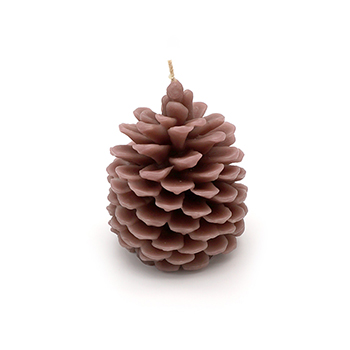 Pinecone Candle-Large - TAB-722-10526
