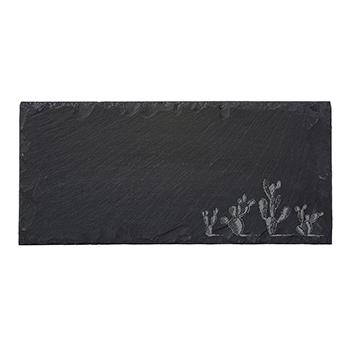 Rectangle Slate Serving Board-Cactus - VSR-1205-CACTI