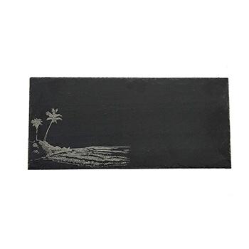 Rectangle Slate Serving Board-Palm Trees - VSR-1205-PALM
