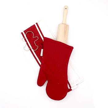 Rolling Pin Baking Gift Set-Red - J-GS-02-R