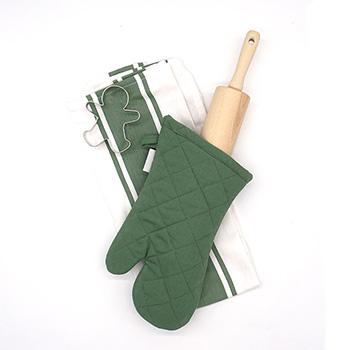 Rolling Pin Baking Gift Set-Green - J-GS-02-G