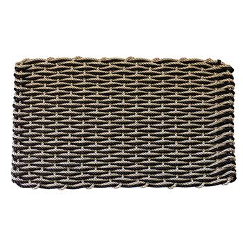 Rope Co. Doormat-Sand & Charcoal