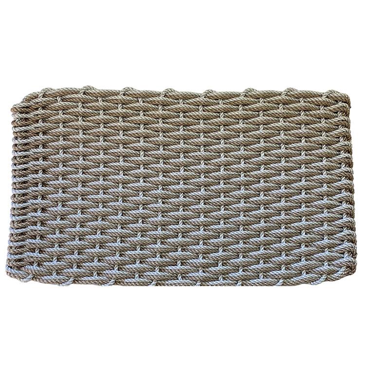 Rope Co. Doormat-Sand & Fog Grey