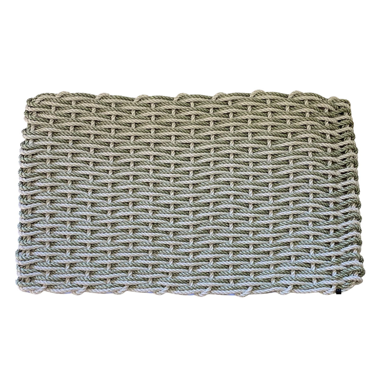 Rope Co. Doormat-Oyster & Sage