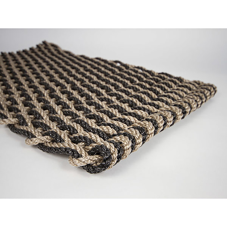 Rope Co. Doormat-Sand & Charcoal
