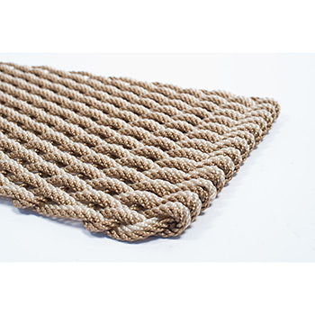 Rope Co. Doormat-Sand & Tan