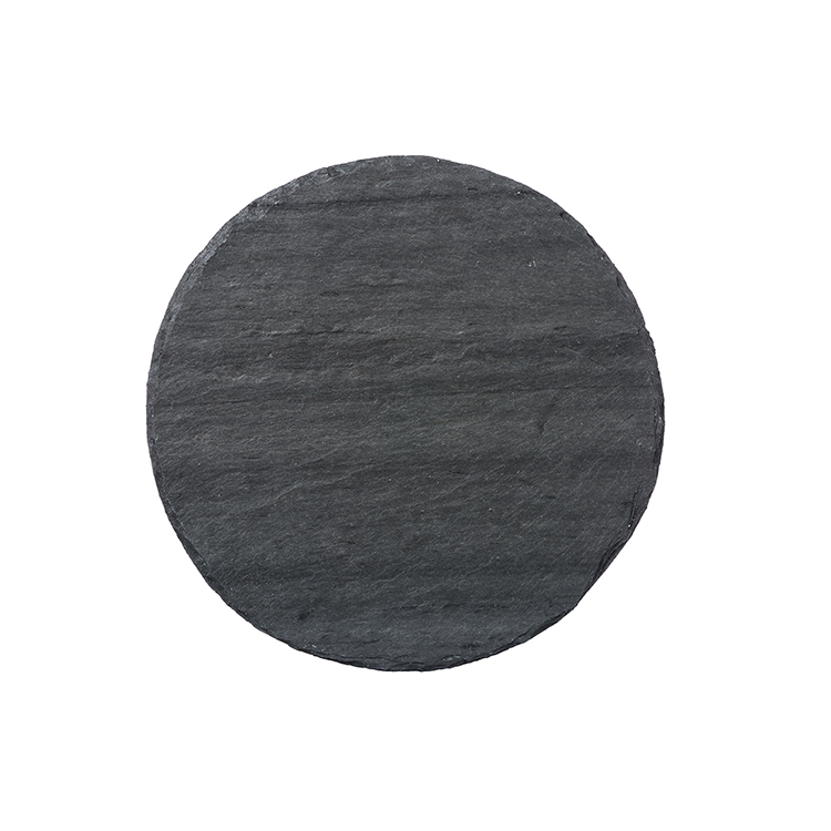 Light Grey Round Slate Server
