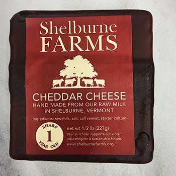 Shelburne Farm Cheddar-1 year - SFRM-NC54