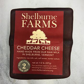 Shelburne Farm Cheddar-2 year - SFRM-NC56
