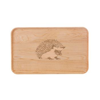 Small Maple Appetizer Plate-Hedgehog - APT-905-M-HEDG