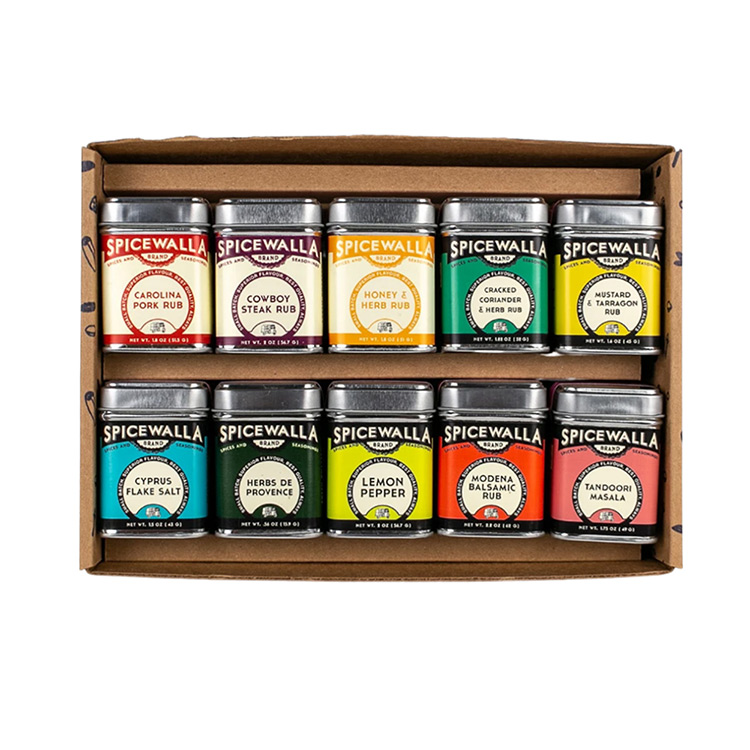 10 Pack Grill & Roast Spice Collection