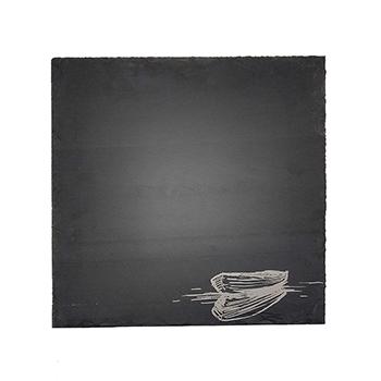 Square Slate Server-Boat - VSR-1212-BOAT