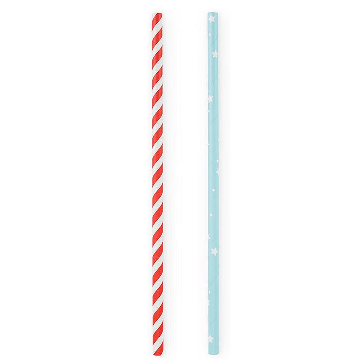 Paper Straws-Stars and Stripes