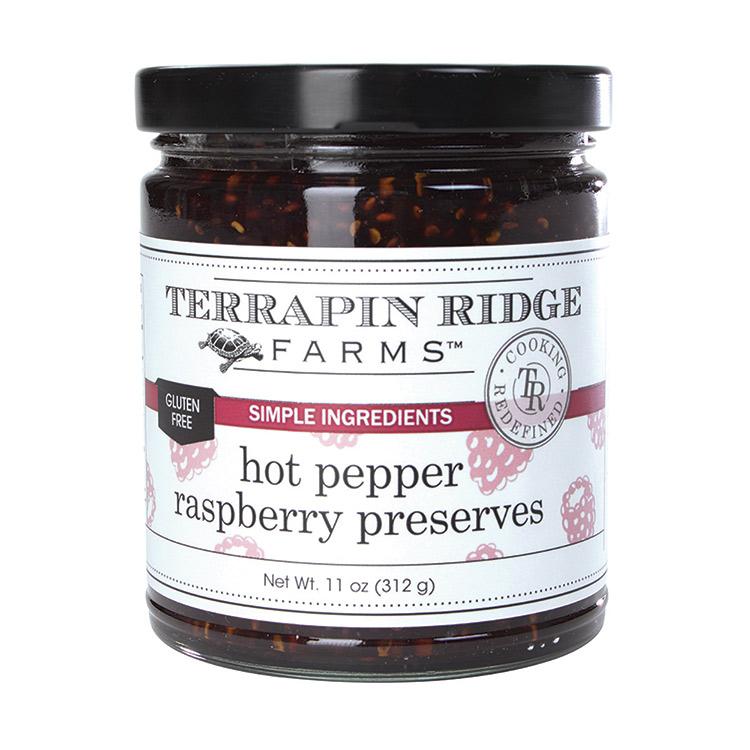 Hot Pepper Raspberry Preserves