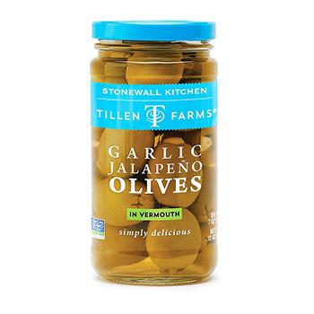 Garlic Jalapeno Olives