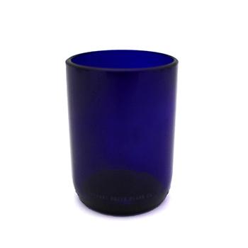 Upcycled Blue Glass-12 oz. - VGGC-BLUEMORGAN