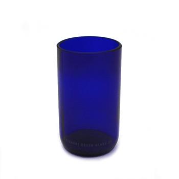 Upcycled Blue Glass-8 oz. - VGGC-BLUEJ