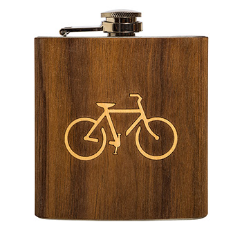 Walnut Flask-Bike