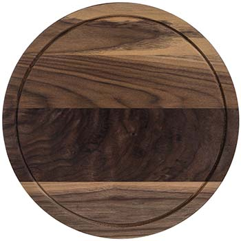 Walnut Round Serving Board