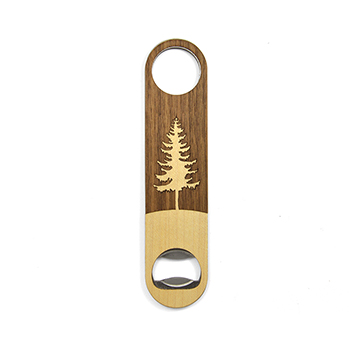 Walnut Bottle Opener-Tree
