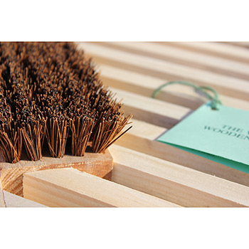 Vermont Wooden Doormat Replacement Brush