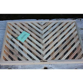Vermont Wooden Doormat
