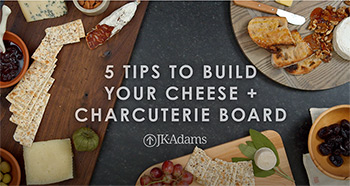 VIDEO: 5 Tips to Build Your Cheese + Charcuterie Board