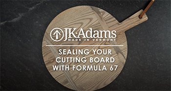VIDEO: Sealing Your Cutting Board with Formula 67