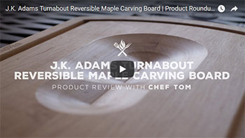 VIDEO: Turnabout Carving Board Review