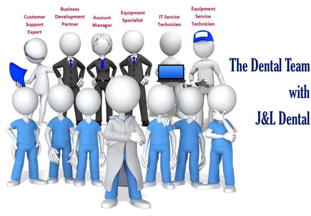 Dental Team with J&L Dental