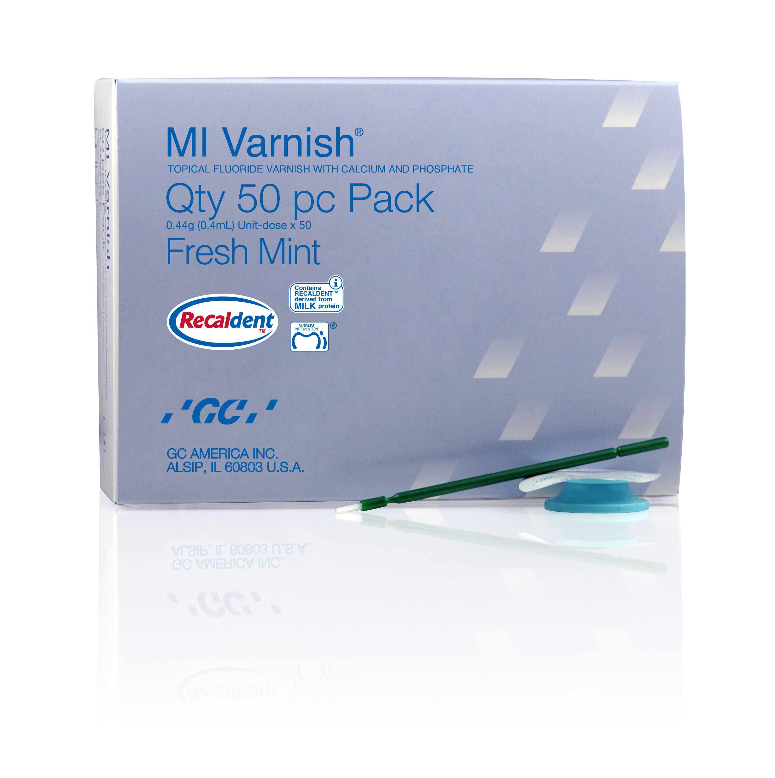 MI VARNISH - FRESH MINT (50ct)