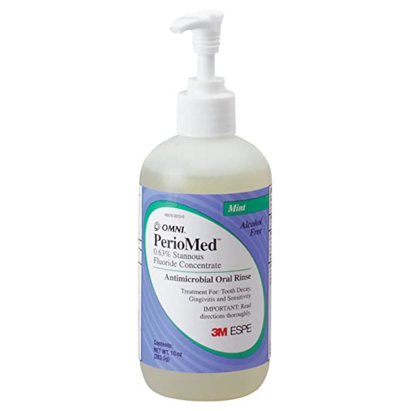PERIOMED 0.63% STANNOUS FLUORIDE, MINT (Rx)