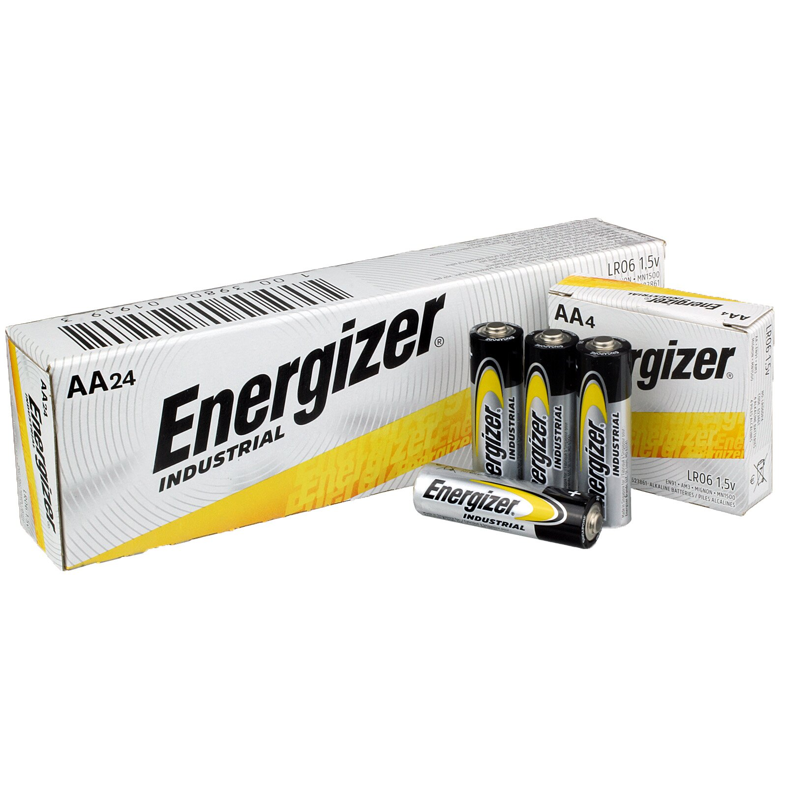 AA ALKALINE BATTERIES (24)