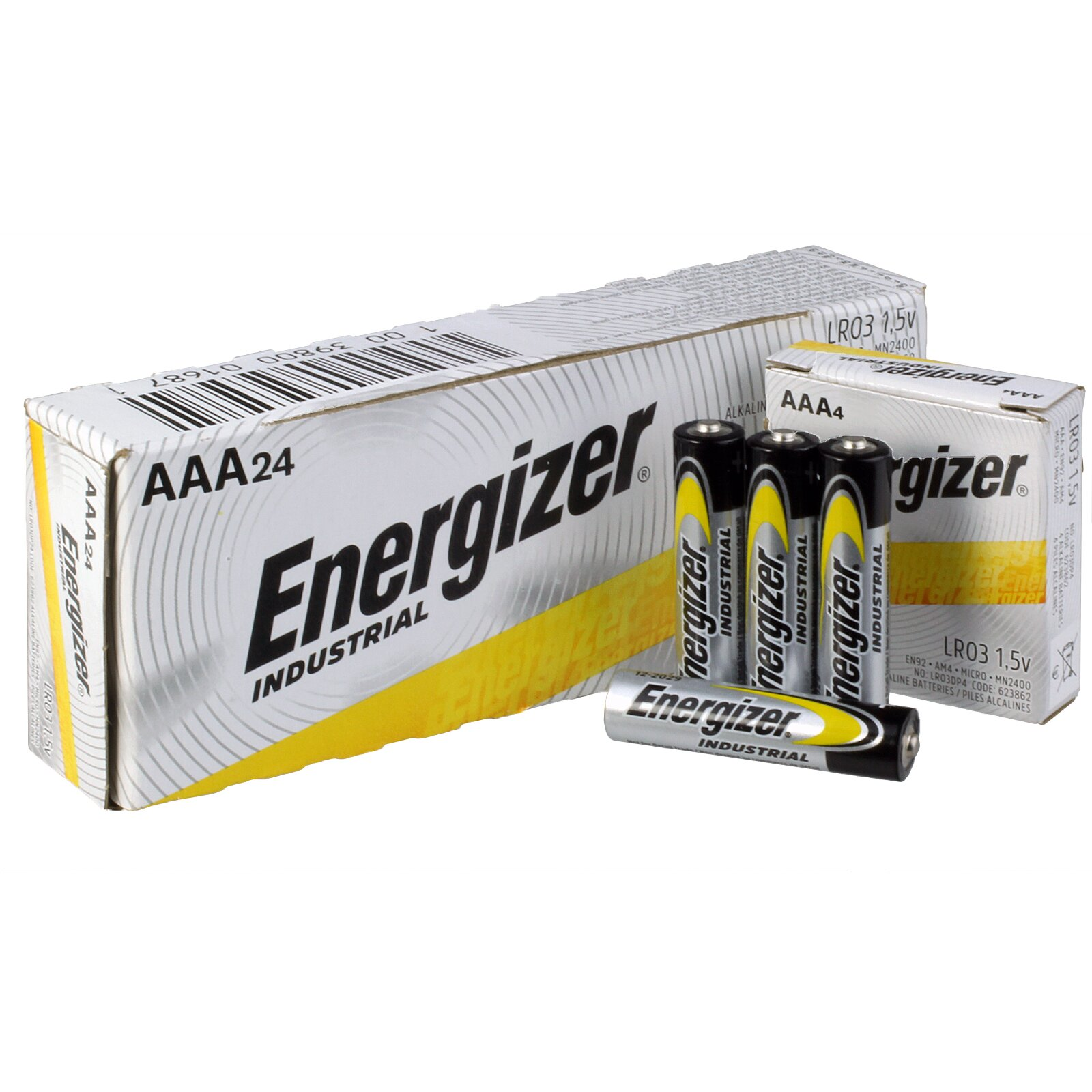 AAA ALKALINE BATTERIES (24)