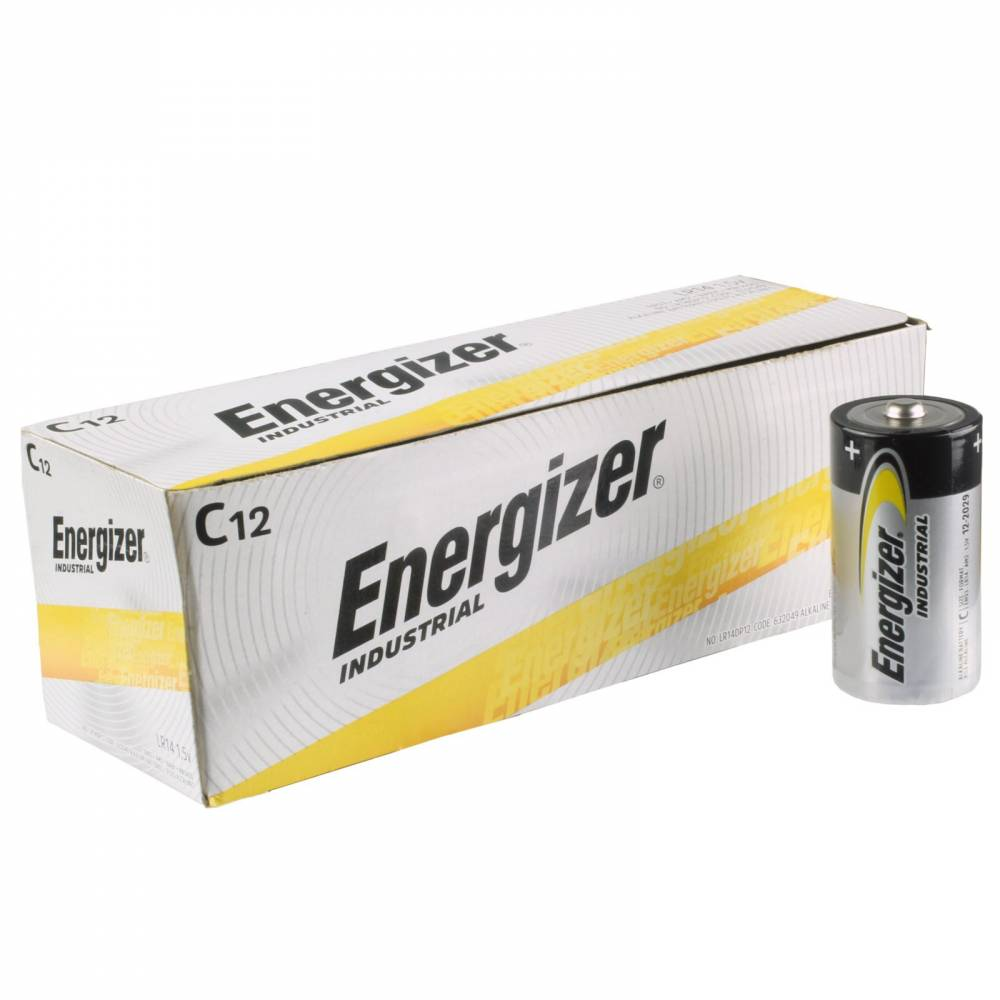 C ALKALINE BATTERIES (12)