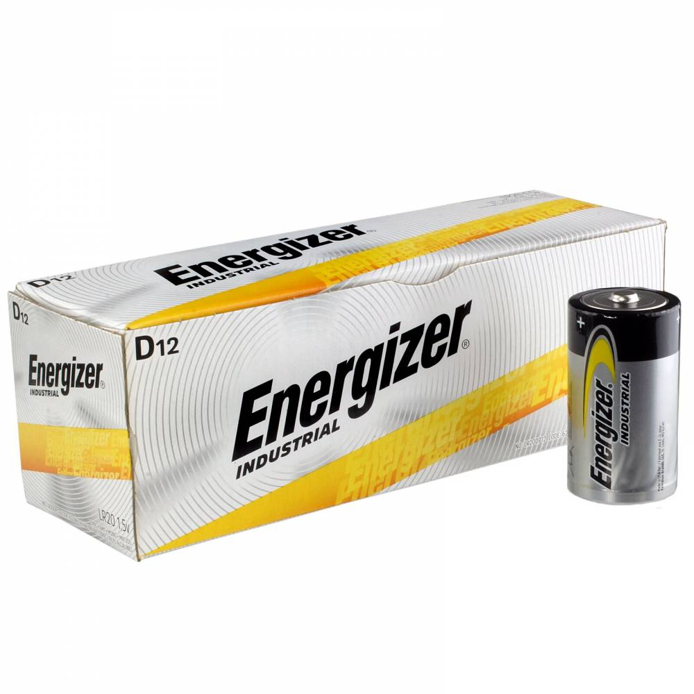 D ALKALINE BATTERIES (12)