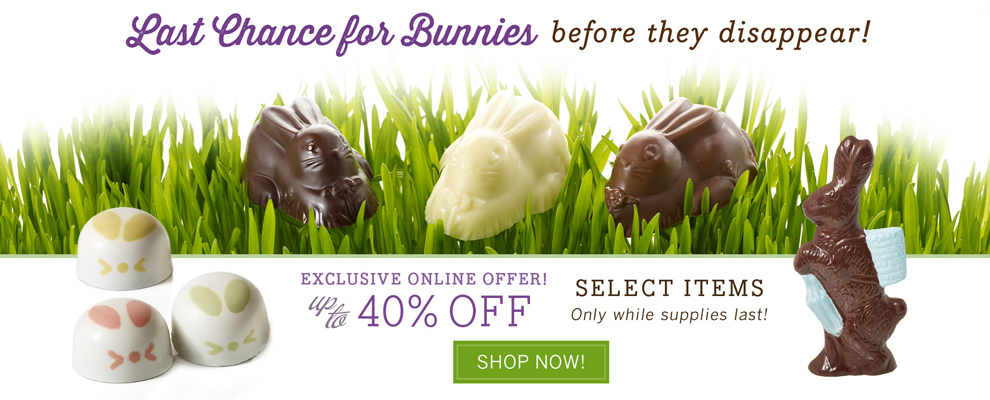 Post-Easter Sale