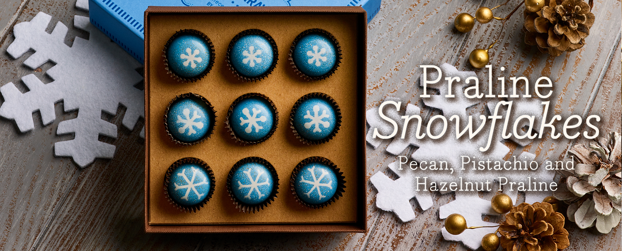 Praline Snowflakes and Winter Gifts