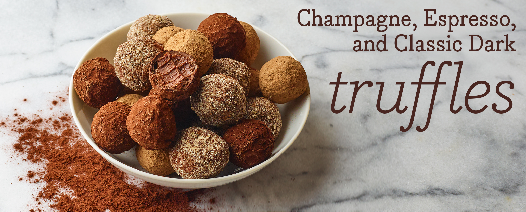 Truffles- Our Flavors