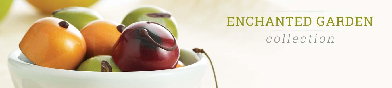 Enchanted Garden Cherries, Oranges, and Apples